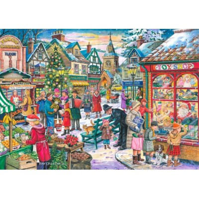 The-House-of-Puzzles-3497 Christmas Collectors Edition No.10 - Window Shopping