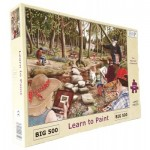 The-House-of-Puzzles-3527 Pièces XXL - Learn To Paint