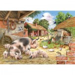 The-House-of-Puzzles-3534 Pièces XXL - Poppy's Piglets