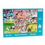 The-House-of-Puzzles-3916 Pièces XXL - Sports Mixture