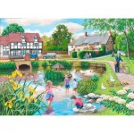 The-House-of-Puzzles-4104 Pièces XXL - Duck Pond