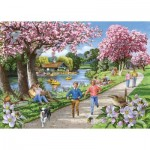 The-House-of-Puzzles-4326 Pièces XXL - Apple Blossom Time