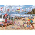 The-House-of-Puzzles-4364 Pièces XXL - Regatta Day