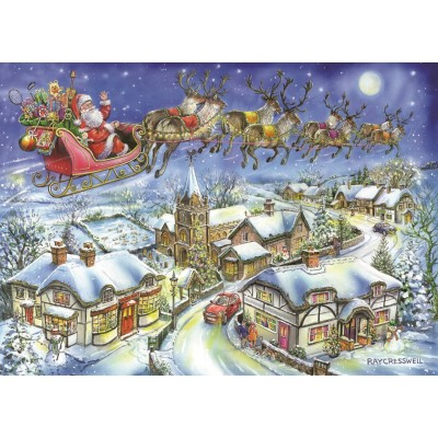 The-House-of-Puzzles-4494 Christmas Collectors Edition No.13 - Christmas Eve