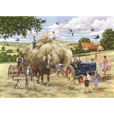 The-House-of-Puzzles-4548 Pièces XXL - Making Hay