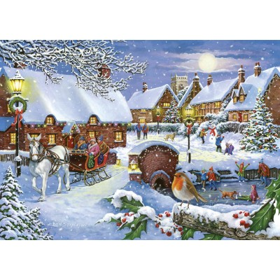 The-House-of-Puzzles-4708 Sleigh Ride