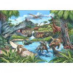 The-House-of-Puzzles-4722 Pièces XXL - Dinosaures