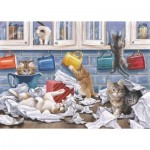 The-House-of-Puzzles-4784 Pièces XXL - Darley Collection - Kitty Litter