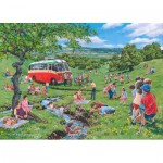 The-House-of-Puzzles-4821 Pièces XXL - Darley Collection - Sunday Picnic