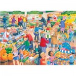 The-House-of-Puzzles-4838 Pièces XXL - Darley Collection - Supermarket Dash