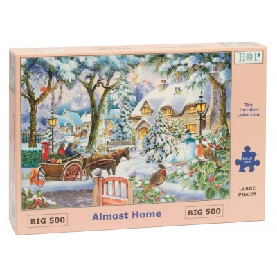 The-House-of-Puzzles-4876 Pièces XXL - Almost Home