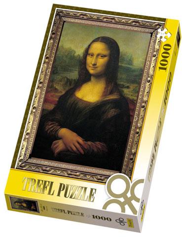 Trefl-10002 Léonard de Vince : Mona Lisa, La Joconde