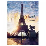 Trefl-10394 Paris, Je t'aime