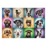 Trefl-10462 Funny Dog Portraits