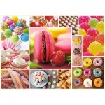 Trefl-10469 Candy Collage