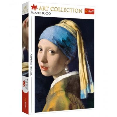Trefl-10522 Vermeer Johannes - La Jeune Fille à la Perle