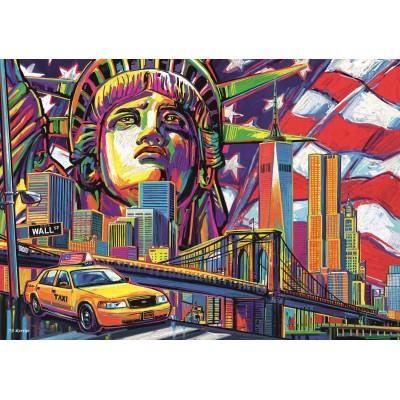 Trefl-10523 Colours of New York