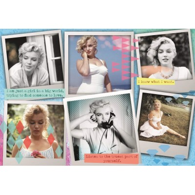 Trefl-10529 Collage - Marilyn Monroe