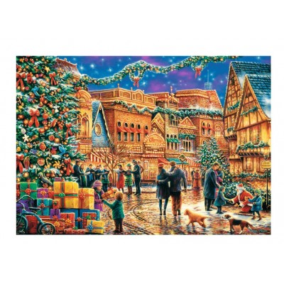 Trefl-10554 Christmas Market