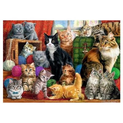 Trefl-10555 Cats Meeting