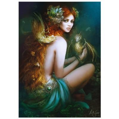 Trefl-10592 Amie des Dragons