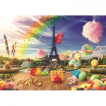 Trefl-10597 Sweet Paris