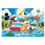 Trefl-14221 Pièces XXL - Mickey à la Pêche
