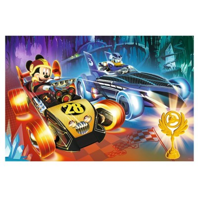 Trefl-14266 Pièces XXL - Mickey and the Roadster Racers