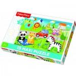Trefl-14286 Pièces XXL - Mattel Fisher-Price