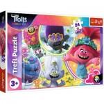 Trefl-14318 Pièces XXL - Dreamworks - Trolls World Tour