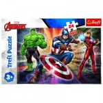 Trefl-14321 Pièces XXL - Disney Marvel The Avengers
