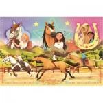 Trefl-15370 Dreamworks - Spirit Riding Free