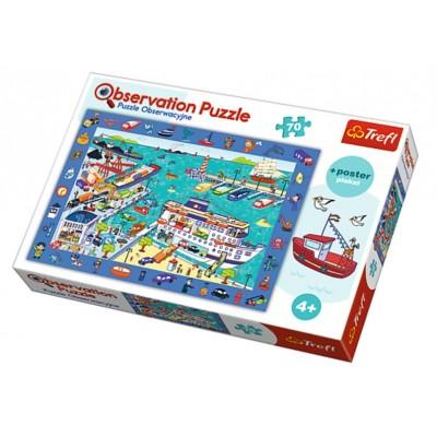Trefl-15536 Puzzle Observation - Le Port