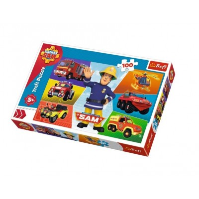 Trefl-16354 Fireman Sam