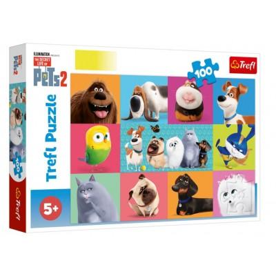 Trefl-16357 The Secret Life of Pets 2