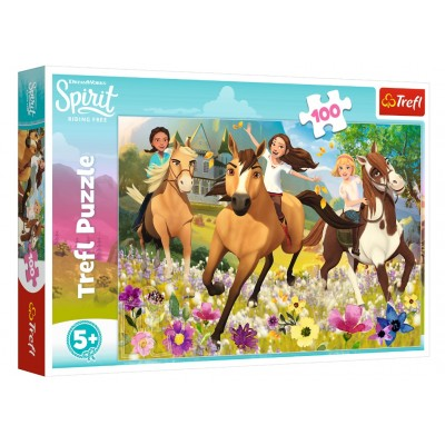 Trefl-16362 Dreamworks - Spirit Riding Free