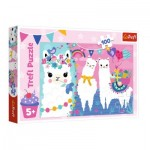 Trefl-16363 Happy Llamas