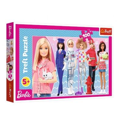 Trefl-16385 Barbie