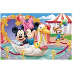 Trefl-19276 Mickey et Minnie s'aiment