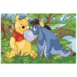 Trefl-19393 Winnie l'Ourson : Winnie et Tigrou