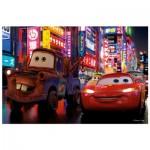 Trefl-19397 Cars 2 : Flash McQueen et Martin
