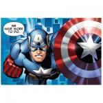 Trefl-19499 Mini Puzzle - Avengers