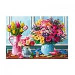 Trefl-26157 Fleurs