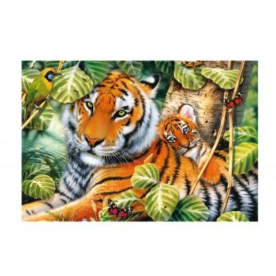 Trefl-26159 Deux Tigres