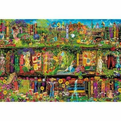 Trefl-26165 Fairy Bookcase