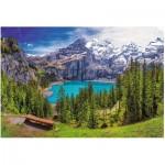 Trefl-26166 Lac d'Oeschinen, Alpes, Suisse