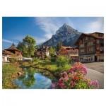 Trefl-27089 Alpes en Eté