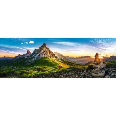 Trefl-29038 Passo di Giau, Dolomites, Italie