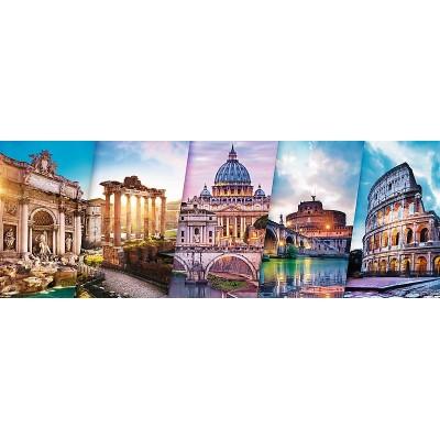 Trefl-29505 Collage - Rome
