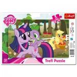Trefl-31155 Puzzle Cadre : Mon Petit Poney